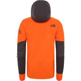 The North Face Ceptor Chaqueta Hombre, papaya orange/weathered black